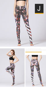 Floral printed yoga legging - SD-style-shop