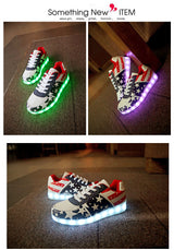 Led Sneakers with star print - SD-style-shop