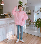 Strawberry milk Hoodie Kawaii Sweatshirt - SD-style-shop