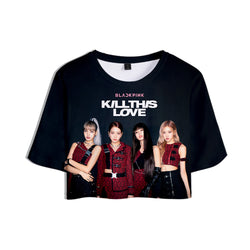 Blackpink Kill this love Croptop - SD-style-shop
