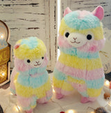 Rainbow Alpaca Plush Toy - SD-style-shop