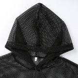 Mesh Hooded T-Shirt - SD-style-shop