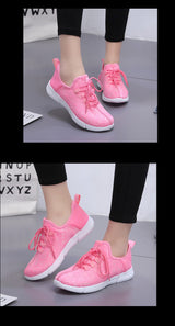 Pink Glowing Optic Fibre LED Shoes - SD-style-shop