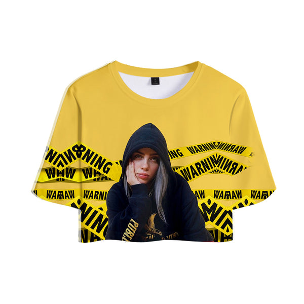 2019 Billie Eilish Croptop - SD-style-shop