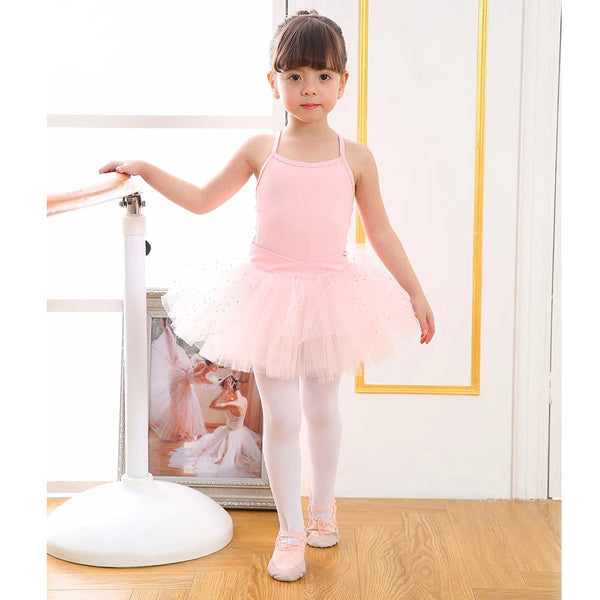 Ballet Leotard with glitter tutu skirt - SD-style-shop