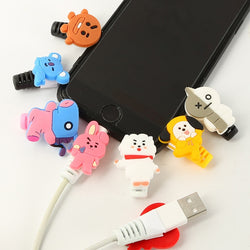 BT21 phone cable protector clip