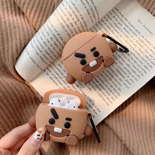 BT21 Shooky Case For Airpods - SD-style-shop
