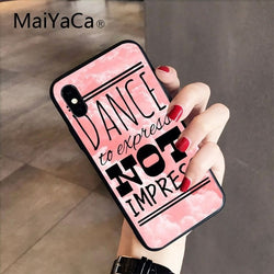 Dance to express Phone Cover for iPhone - SD-style-shop