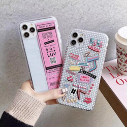 BTS Concert ticket Phone Case For iPhone - SD-style-shop