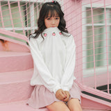 Kawaii sweater with peaches - SD-style-shop