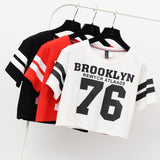 Brooklyn cropped tee - SD-style-shop