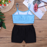 Girls Dance Set- Top & Shorts - SD-style-shop