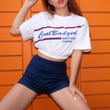 Cropped t-shirt - Cool Bad Girl - SD-style-shop