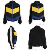 Colorblock pants & jacket - SD-style-shop