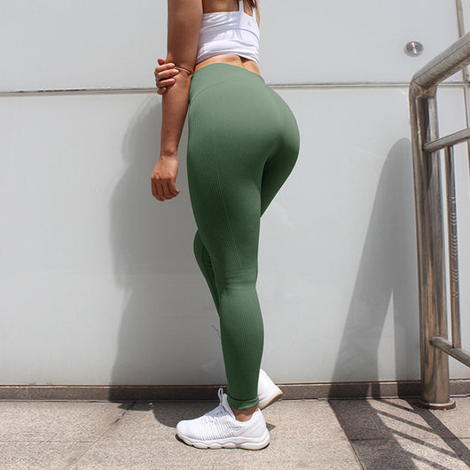 High Waist Seamless Yoga Leggings - SD-style-shop