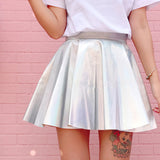 Holographic Laser Skirt - SD-style-shop