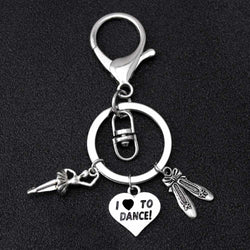 Dance Ballet Keychain Love to dance - SD-style-shop