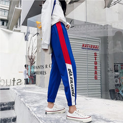 2 color Side Striped Sweatpants - SD-style-shop