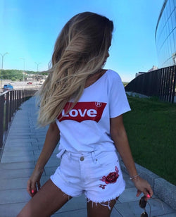 Levis style Love tshirt - SD-style-shop