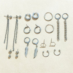 18 pcs Kpop BTS Earrings set - SD-style-shop