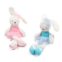 Ballet rabbit with clothes, pluche toy stuffed soft - SD-style-shop