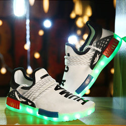 White Led Shoes - SD-style-shop