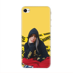 Billie Eilish Hard phone cover case for iPhone Yellow - SD-style-shop