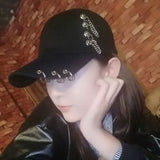 KPOP Cap with Rings - SD-style-shop
