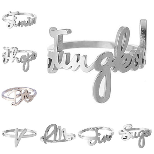 BTS Name Ring - SD-style-shop