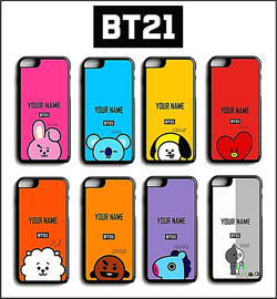 BT21 Name Personalized iPhone Case For iPhone | LG - SD-style-shop