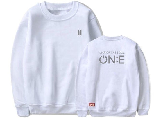 BTS ON:E Concert Merch, Sweater Style C White - SD-style-shop