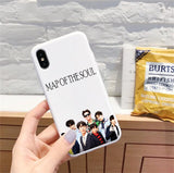 BTS Map of the Soul 7 soft silicone Phone case for iPhone - SD-style-shop