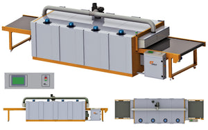 Grafica Introduces Hybrid Dryer (Gas + Electric) for drying wide variety of textile inks