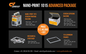 Grafica introduces three new packages for screen printers