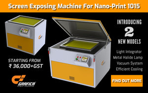 Grafica introduces screen exposing machine specifically for Nano-Print 1015