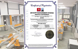 Grafica meets the requirement of ISO 9001:2015 for quality management system