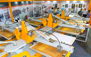 Grafica launches Oval textile screen printing machine at Knit Show 2017 Tirupur