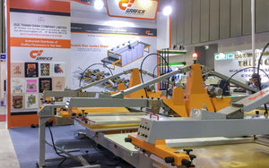 Grafica demonstrated OVALTEX at Vig Textile & Garment Machinery 2018 Vietnam
