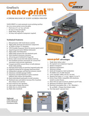 Nano-Print 1015 - Catalogue - Page 1