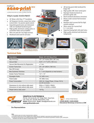 Nano-Print 1015 - Catalogue - Page 2