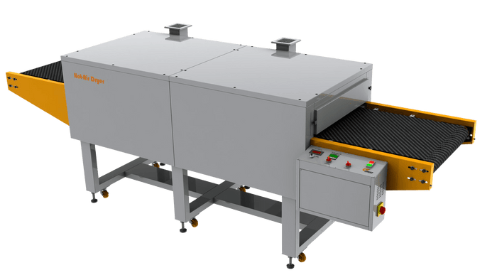 Compact Hot Air Electric Dryer For Solvent, Plastisol & Water Base Inks