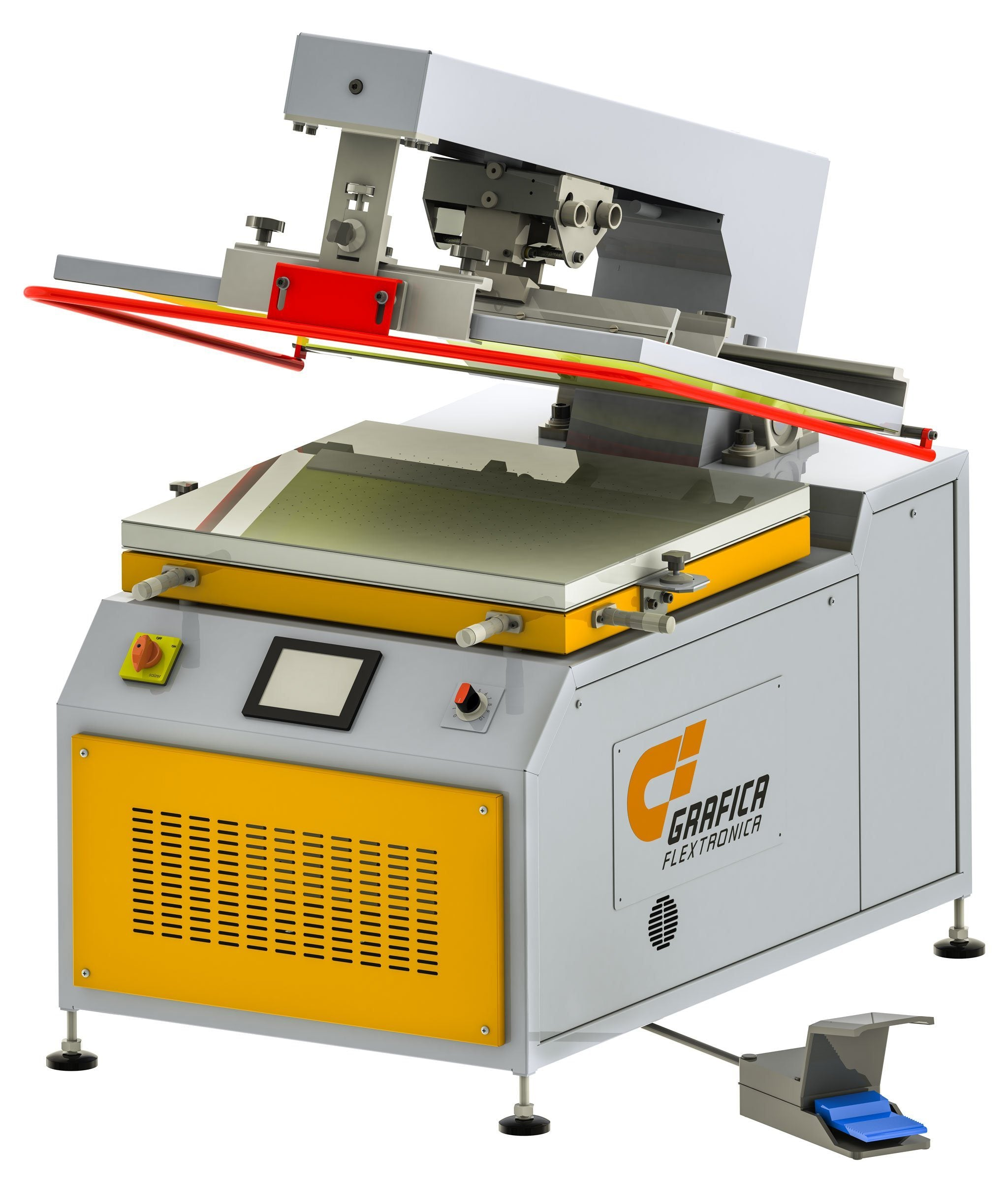 Screen Printing Machine Nano-Print™ 1015 - With Touch Screen Controls