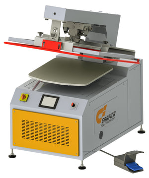 Screen Printing Machine nano-prinTex™ 1015 - With Touch Screen Controls Screen Printing Machine Grafica Flextronica