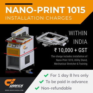 Installation Charges Accessories & Spares Grafica Flextronica