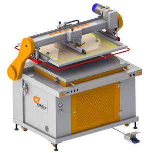 Screen Printing Machine, Nano-Print plus pneumatic, grafica nano, grafica nano print