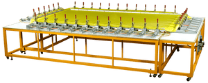 Pneumatic Stretching System For Screen Mesh Tensioning - graficaindiaonline