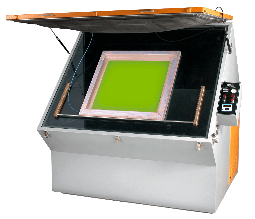 Metal Halide Screen Exposing Machine with Light Integrator and Vacuum Rubber Blanket - graficaindiaonline