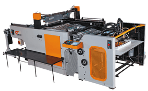 STOP Cylinder Press Automatic Screen Printing Machine For High Speed High Accuracy - graficaindiaonline
