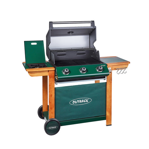 Ranger 3 gas BBQ (green)