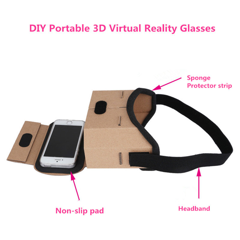 Virtual Reality 3D Glasses For iphone and samsung